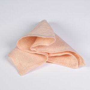 Stofftaschentücher aus Bioleinen 24x24 cm - nahtur-design