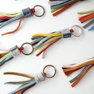 Schlüsselanhänger aus Leder 'alma' - matilda k. manufaktur