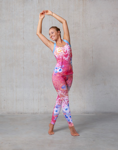 Yoga Legging Bravery Pink - Spirit of OM