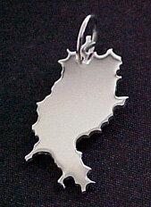 HESSEN Kettenanhänger in 925 Silber - S.W.w. Schmuckwaren