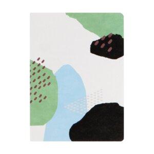 Collage Notizheft aus Hanji (traditionelles koreanisches Papier) - Gebirge - Orom