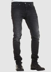 John Slim Long Rise Black Worn In - Kings Of Indigo