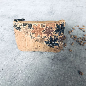 Kork Mini Tasche Blumenrausch - Living in Kork