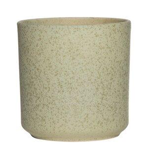 Blumentopf grün aus Keramik - Mitienda Shop
