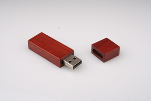 Vireo Holz USB klein, braun - Vireo