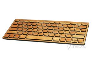 Bambootech Bluetooth Keyboard aus Bambusholz - BambooTech