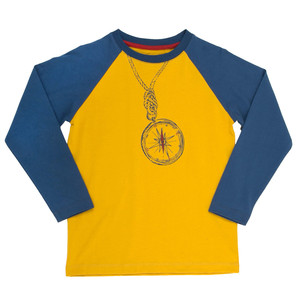 Langarmshirt Kompass - Kite Kids
