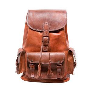 hecho. Lederrucksack 'Marco' (XL, 36L) (Rucksack, Leder, Tasche, Backpack, Ledertasche) - hecho.
