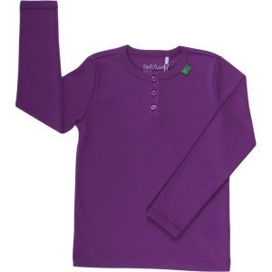 Grannyshirt Langarm Purple - Fred's World by Green Cotton