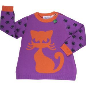 Pullover Kätzchen - Fred's World by Green Cotton