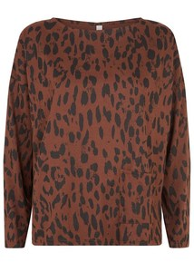 LIBBY ANIMAL PRINT TOP - People Tree