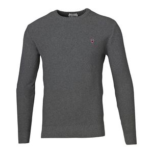 Basic Knit in Dark Grey Melange - KnowledgeCotton Apparel