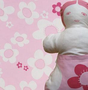 Zur Geburt -  Puppe und Bettbezug  - ingegerd