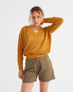Shorts - Gardenia - aus Bio-Baumwolle - thinking mu