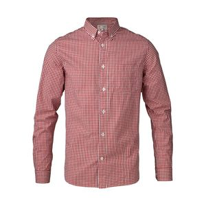 Button Down Light Poplin Shirt - KnowledgeCotton Apparel