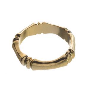 Ring Alysee vergoldet - Edge of Ember