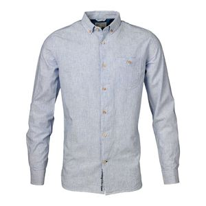 Striped Oxford Shirt Riviera - KnowledgeCotton Apparel