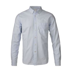 Button Down Oxford Shirt hellblau - KnowledgeCotton Apparel