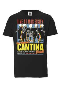 LOGOSHIRT - Star Wars - Alien - Cantina Band - Organic T-Shirt  - LOGOSH!RT