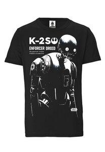 LOGOSHIRT - Star Wars - Rogue One - K-2SO - Organic T-Shirt  - LOGOSH!RT
