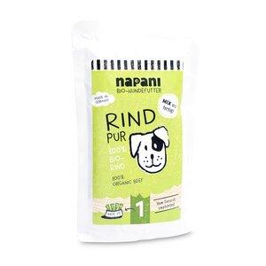 Bio-Nassfutter f. Hunde, Rind pur - napani