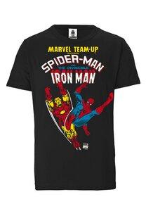 Team Spider-Man & Iron Man - Marvel - LOGOSHIRT - 100% Organic Cotton  - LOGOSH!RT
