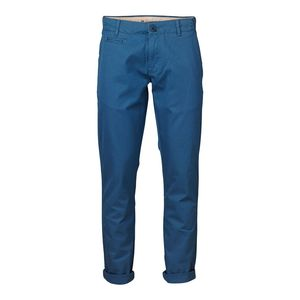 Twisted Twill Chino Dark Blue - KnowledgeCotton Apparel