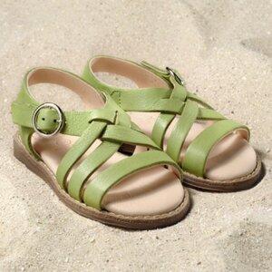 Sandale Nina, pistazie - Pololo