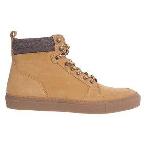 Steve High Top Sneaker Nubuk - Grand Step Shoes