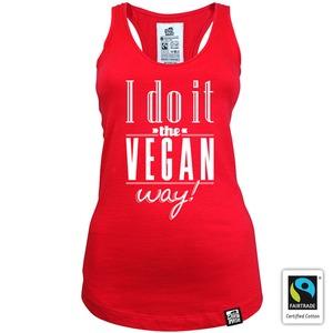I do it the vegan way - Gary Mash