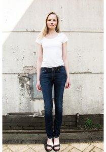 Ladies 5-Pocket Jeans Raw Blue - Mud Jeans