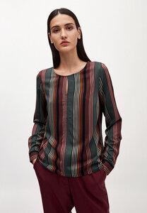 VENDLAA CLUSTERED STRIPES - Damen Bluse aus LENZING ECOVERO - ARMEDANGELS