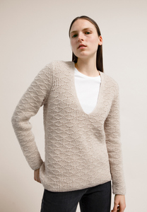 JOSEFINAA DIAMOND - Damen Pullover aus Bio-Woll Mix - ARMEDANGELS
