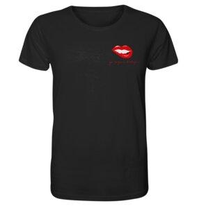 "Organic Unisex T-Shirt, ""Go vegan baby"" aus 100 % Bio-Baumwolle - BVeganly"