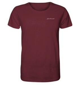"Organic Unisex ""plantbased"" T-Shirt aus Bio-Baumwolle - BVeganly"