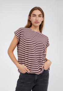 JAARIN KNITTED STRIPE - Damen T-Shirt aus Bio-Baumwoll Mix - ARMEDANGELS