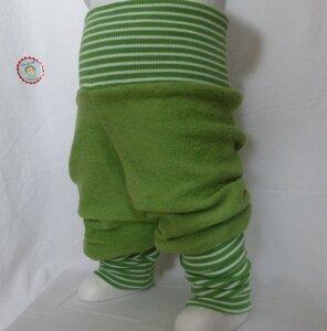 Kinder-/Baby-Mitwachshose aus Baumwollfleece - Omilich