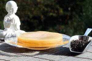Kombucha mit Kombuchapilz Starterkultur für 1 Liter - Natural-Kefir-Drinks