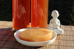 Kombucha mit Teepilz Kultur für 2,5 Liter Kombuchatee - Natural-Kefir-Drinks