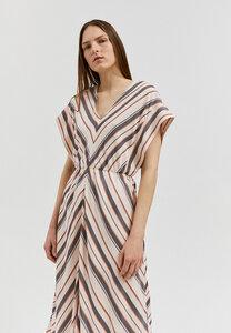 XENIAA MULTISTRIPES - Damen Kleid aus LENZING ECOVERO - ARMEDANGELS