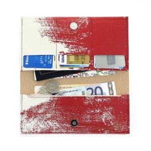 Dokumententasche aus recyceltem Leder - TASHAY