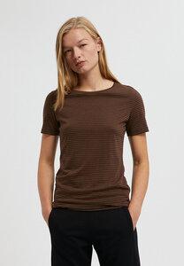LIDIAA RING STRIPES - Damen T-Shirt aus TENCEL Lyocell Mix - ARMEDANGELS