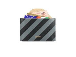 Portemonnaie aus recyceltem Leder - TASHAY