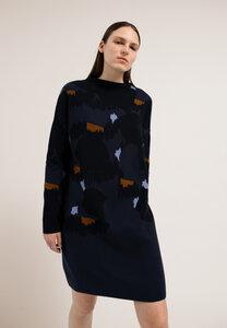 HAARISSA  BIG DOTS - Damen Strickkleid aus Bio-Baumwolle - ARMEDANGELS