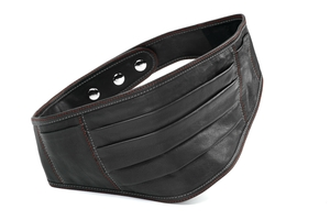 Money Belt aus Rhabarberleder - deepmello