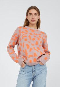 OLESSYAA FRAAGMENTS - Damen Pullover aus Bio-Baumwolle - ARMEDANGELS