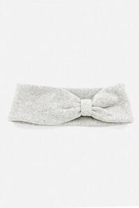 Stirnband mit Raffung Biobaumwoll Fleece - ein garten Studios