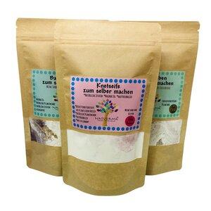 Großes Bade Bastelset für Kinder, Badebomben, Knetseife, DIY, Nachhaltig, Vegan - Natuurma©