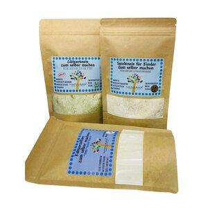 Großes Bastelset für Kinder, Knete selber machen, Kaltporzellan, DIY, Nachhaltig, Vegan - Natuurma©