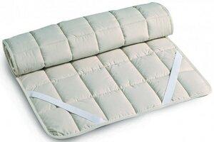 Baumwoll - Unterbett LENA mit Spannbändern Kinderbett 60x120cm 70x140cm - Prolana